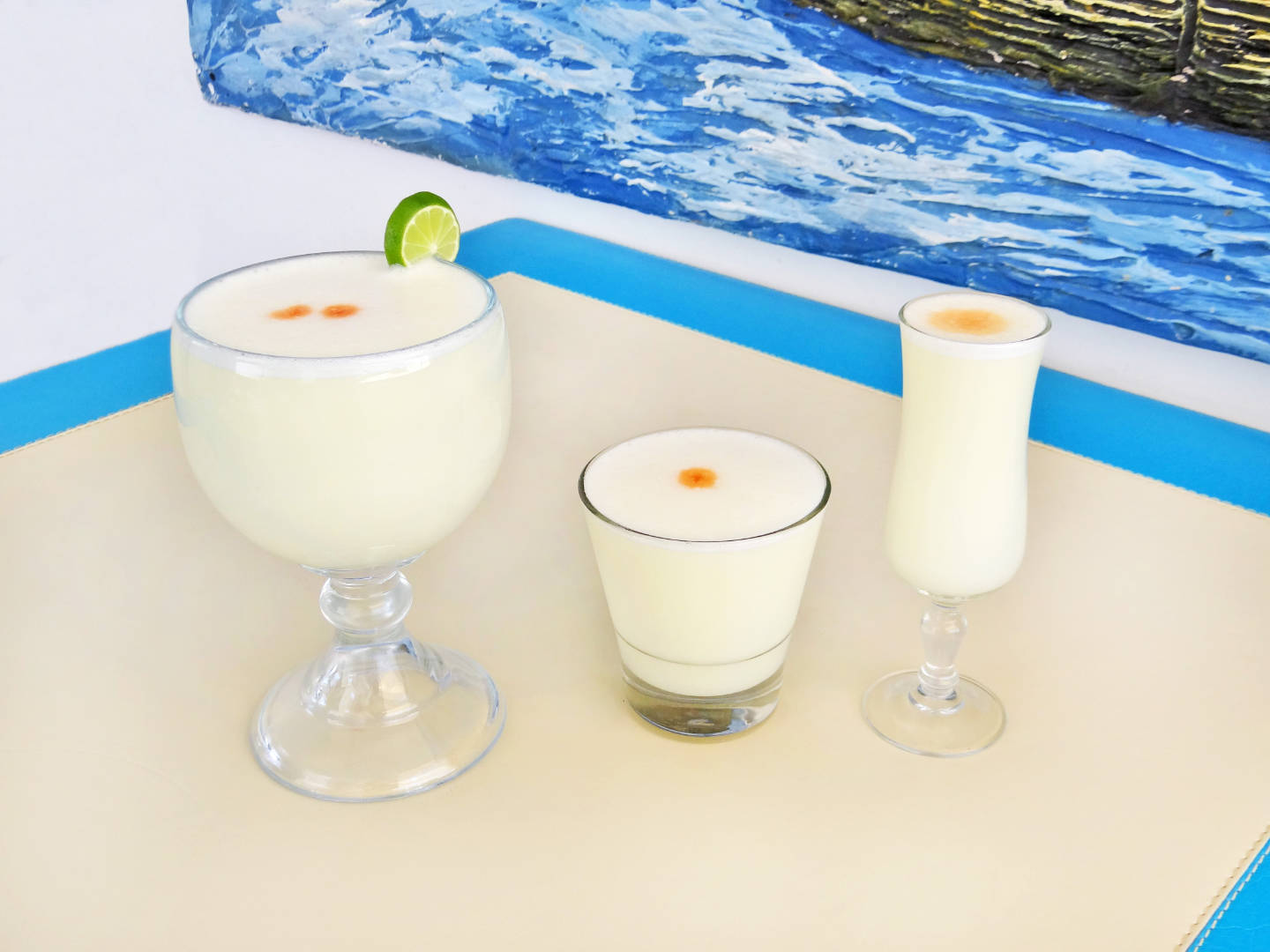 Mix Pisco Sours
